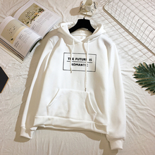Milinsus 2019 Women Hoodies White Letter Print Graphic Fashion Kpop Clothes Womens Pullover Sweatshirts  Plus Size