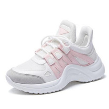 LAIDILANGTU Large size womens shoes explosion models 2018 autumn new movement leisure Sneakers old women