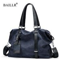 BAILLR Brand NEW Nylon Men Shoulder Bag Men S Casual Tote Bag Vintage Business Top Handle