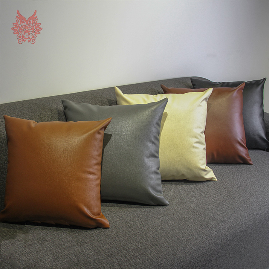 Sofa Decor High Grade Pu Leather Cushion Cover Car Covers Pillow Case Housse De Coussin Capa Almofada Sp3461 In From Home