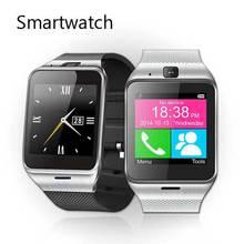 Bluetooth Smartwatch Aplus Gv18 Reloj de Pulsera Montre Conector Android NFC Impermeable Usable Dispositivos Con Tarjeta SIM Inteligente