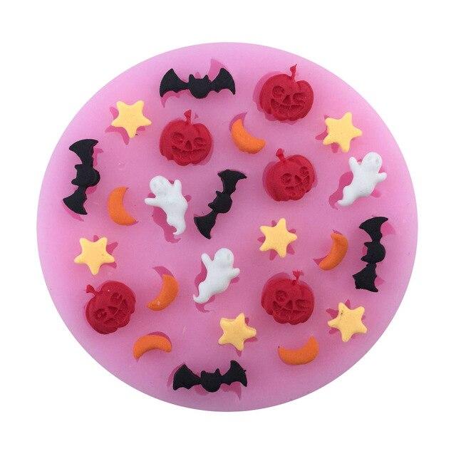 Halloween Dessins Animes Avec Lunes Etoiles Citrouilles Fantomes