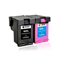 LuoCai Compatible ink cartridge For HP62 For HP 62 XL Envy 5640 5660 7640 5540 5544 5546 5548 Officejet 5740 5741 5742 5743 62XL