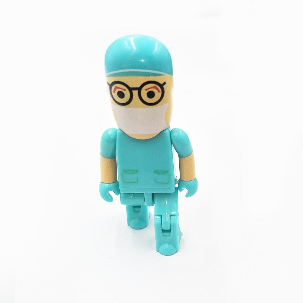 2017 new arrival plastic doctor designed personalized 4Gb 8GB 16GB 32GB medical usb flash drive