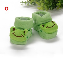 Brand Kids Baby Unisex Newborn Animal Cartoon Socks Cotton Shoes Booties Boots 0-10M