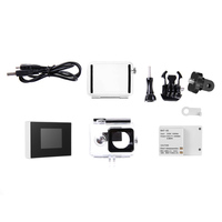 1.5inch TFT LCD BacPac External Monitor Non touch Screen + Battery + Waterproof Housing Case For Xiaomi Yi Action Camera