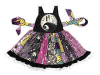 contemporary crazy selling Christmas thriller black teen girls' dress/Total cost