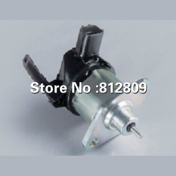 Fuel shut off solenoid for Engine spare parts flame out solenoid 17208-60010 engine spare parts flame out solenoid 17208 60016fuel shut off stop solenoid fits v1505 v1305