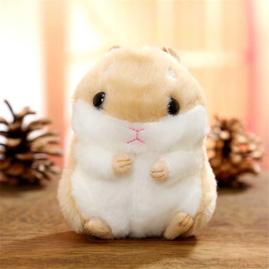 Mini Hamster Fofo Falso Chaveiro Saco do Anel Chave para As Mulheres de Pele De Coelho Pompom Pendurado Pingente de Chave Acessórios Titular Jóias SP2482