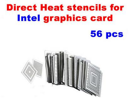 Intel video chips Direct Heat Stencils 56pcs for game board repairing