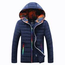 2017 Men's White Duck Down Jacket Men Winter Warm Coat Long-Sleeve Ultralight Down Jacket Male Windproof Parka Asian Size 4XL