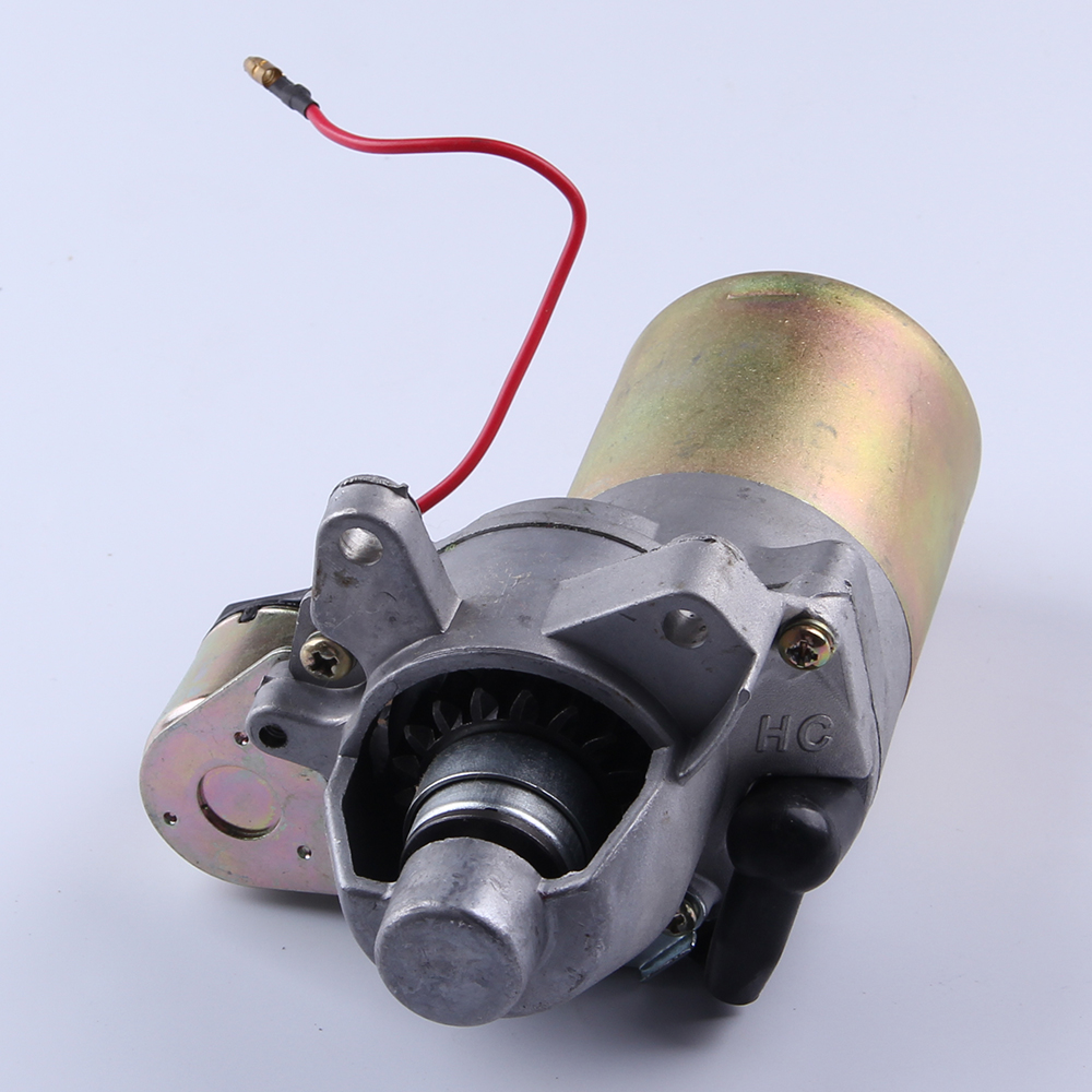 168F 2kw Gasoline Generator Engine Electric Motor Starter 5.5hp Engine 12V 0.25KW 12v 4kw new starter motor for ford f e series tg228000 8420