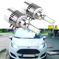 H15 LED Headlight Car Headlamp 72W 7600LM For Volkswagen Golf 6 7/Touran /Touareg/BMW 220I /Benz GLK/A180/A45 AMG/Audi A3/A6