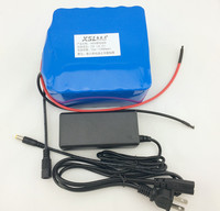 24V 12Ah Electric Vehicle Special Battery 18650 12000mah 25.2V Lithium Ion Battery Standby Portable + 24V (25.2V) 1A Charger