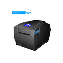 цена на 80MM model BC80155 Barcode Printer Sticker label Thermal Printer Price Sticker Clothing Tag Product Price label Printer USB Port