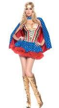 Sexy Traje de Superhéroe dancing queen Traje Para Mujer vestito tentazione de rol de Halloween carnaval cosplay