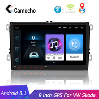 2Din Android 8.1Car Radio GPS Navigation WIFI Buletooth for Volkswagen Skoda Octavia Golf 5 6 touran passat B6 Jetta polo tiguan