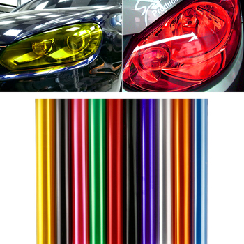 30*60cm 2pcs Car HeadLight tialLight Decor Vinyl Film Sticker Decal for BMW all series 1 2 3 4 5 6 7 X E F-series E46 E90 F09 image