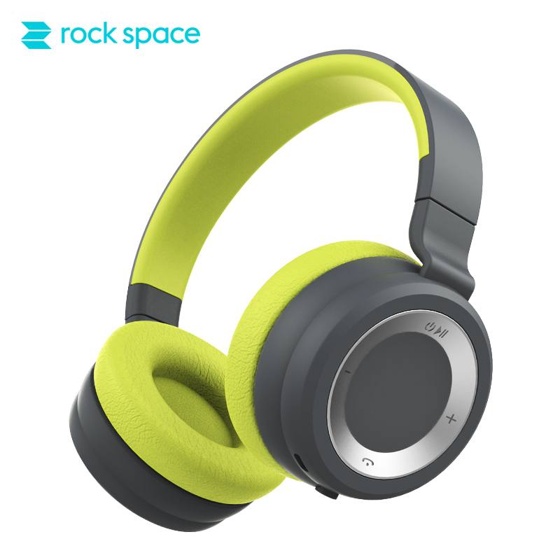 все цены на ROCKSPACE Bluetooth Headphone With Mic Headset Hi-Fi Speaker Stereo Headphones Wireless Over Ear Headphones For iPhone Xiaomi