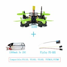 JMT X180 HD 700TVL CAM BNF Assembled RC Racing Drone with Hobbywing ESC FPV OSD Flysky A8S RX DIY Quadcopter No Remote F21233-E