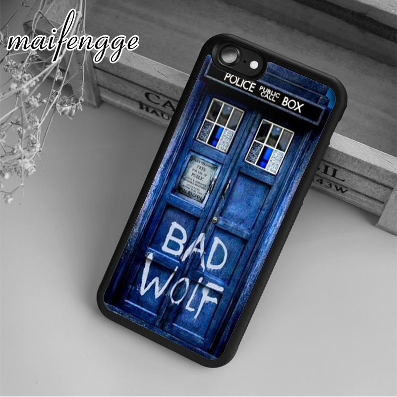 Phone Bags & Cases Persevering Maifengge Doctor Who Tardis Bad Wolf Case For Iphone 6 6s 7 8 Plus X 5 5s Se Case Cover For Samsung S5 S6 S7 Edge S8 Plus Shell Cellphones & Telecommunications