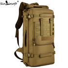 Gift!SINAIRSOFT Military Tactical Backpack Camping Bags 50L Mountaineering bag Men's Hiking Rucksack Travel Backpack LY0089