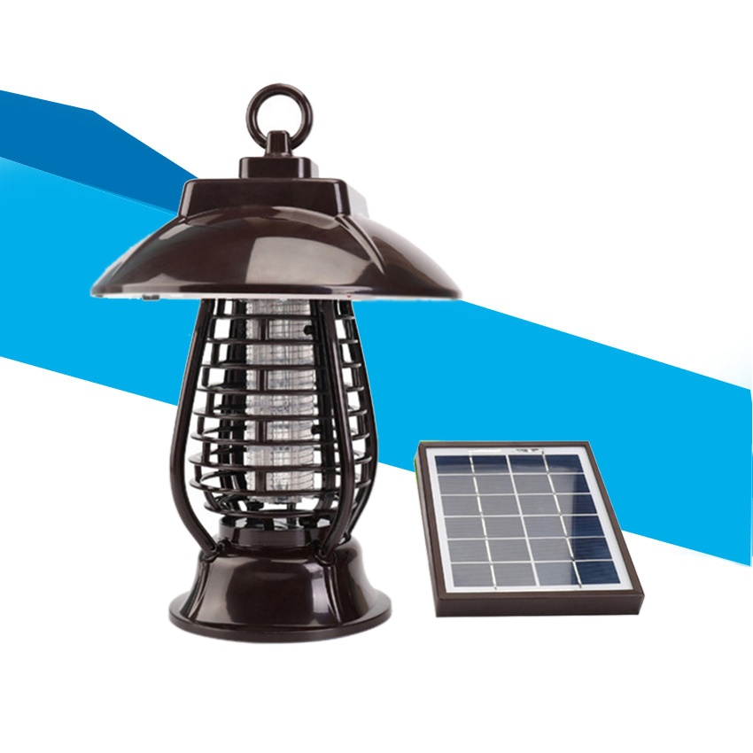 Solar Power Mosquito Killer Light Mosquito Repeller Light Insect Killing Lamp for Hanging Gardens Outdoor Places Pest Reject цена