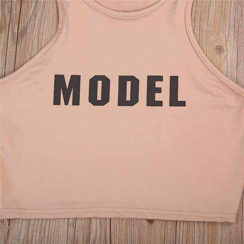 Wanita Model Kasual Tank Top Crop Top Tshirt Korset Cetak Tanaman Top T SHIRT Pakaian Olah Raga Streetwear
