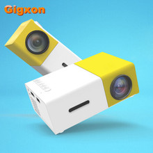 Gigxon-G19 YG-300 mejor regalo compatible con full HD 1920*1080 P LED LCD mini proyector AV/USB/sd/HDMI