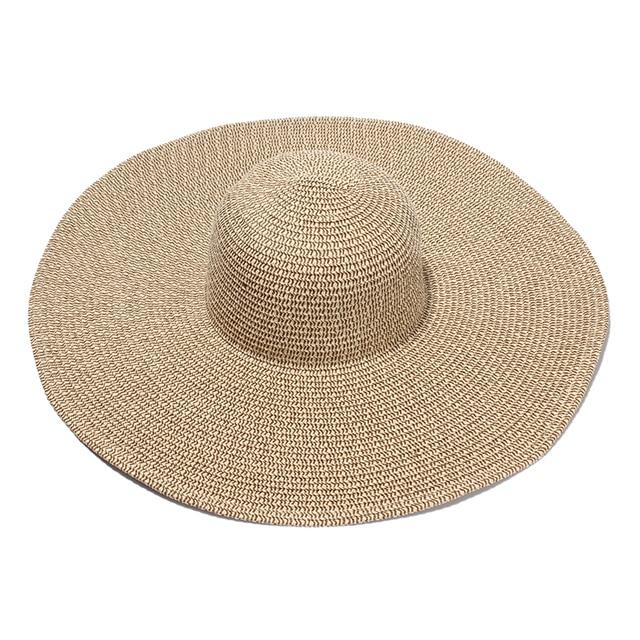 Mujeres Sun Sombreros De Ala Ancha Señoras Elegantes de Playa Casquillos Ocasionales  Sombreros Mujer Verano Sombrero 4c551b194d4