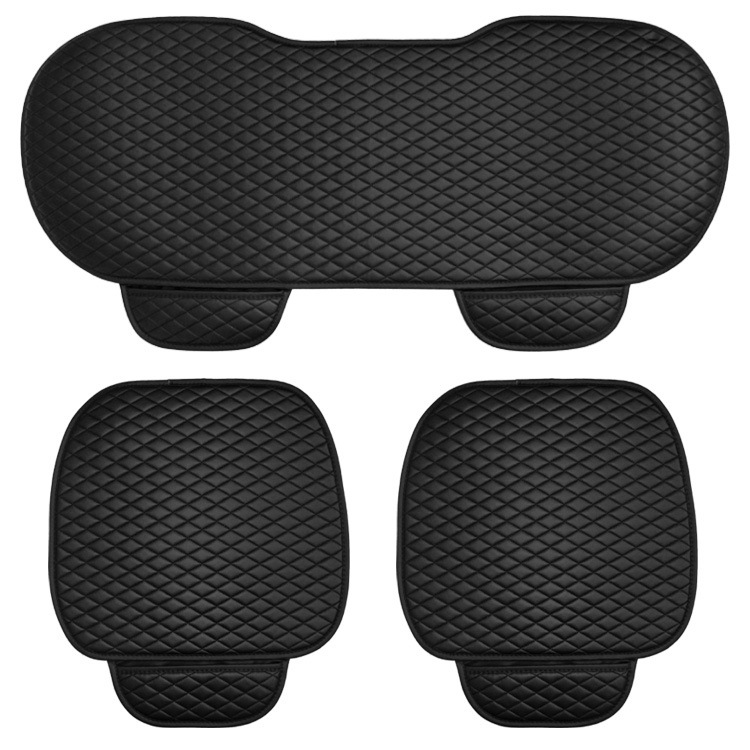 Image 5 - 3 pcs car seat cushion car fashion car seat cover Car Styling Auto accessories PU leather manufacturing-in Automobiles Seat Covers from Automobiles & Motorcycles