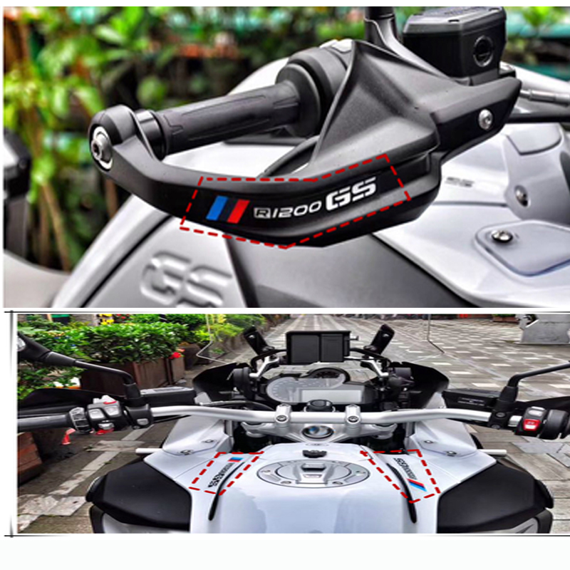 Motorcycle Handlebar Clamp Tank Tail Box Sticker For BMW R1150 R1200GS/ADV R1250GS F800GS/ADV F700GS F650GS F850GS F750GS G650GS