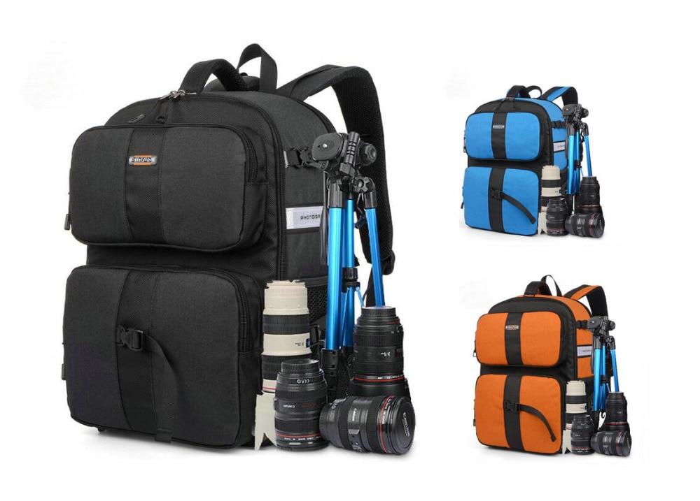 Nueva mochila de colores bolsa de cámara funda para cámara DSLR SLR Nikon Canon Sony Fuji Pentax Samsung bolsa de viaje RU SQY 09-in Bolsos para cámara/vídeo from Productos electrónicos on AliExpress - 11.11_Double 11_Singles' Day 1