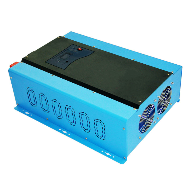 PSW7 12KW 96V 220VAC/240VAC DC to AC Power Inverter Pure Sine Wave 12000W Off Grid Solar Inverter Built in Battery Charger solar power on grid tie mini 300w inverter with mppt funciton dc 10 8 30v input to ac output no extra shipping fee