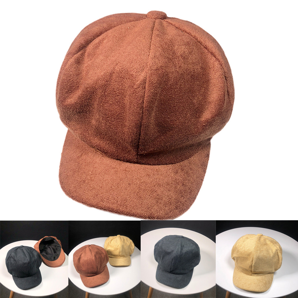 5e4edcb4 KLV Women Men Hat Autumn Winter Casual Cotton Cashmere Hat Baseball Cap  Earmuffs Peaked Fitted Khaki