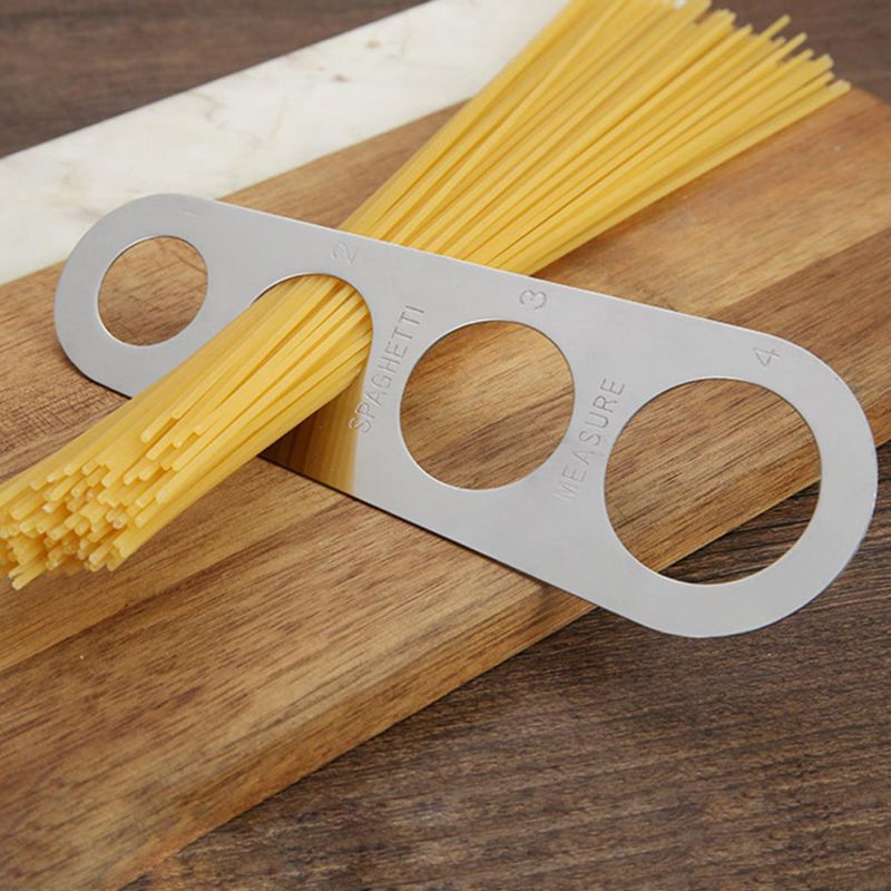 Pasta Noodle Measure Easy Use Noodle Measurer Premium Stainless Steel Spaghetti Measurer Gadget Measure Tool Kitchen Accessories