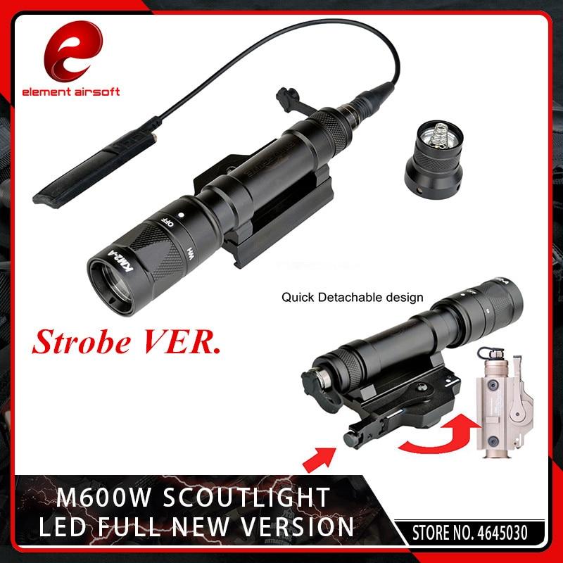 Element Airsoft M620W Scout Light CREE Q5 LED Tactical M620 Strobe Lamp FlashlightElement Airsoft M620W Scout Light CREE Q5 LED Tactical M620 Strobe Lamp Flashlight