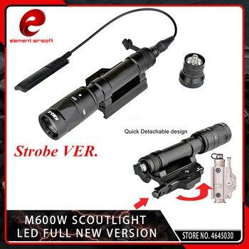 Element Airsoft M620W Scout Light CREE Q5 LED Tactical M620 Strobe Lamp Flashlight