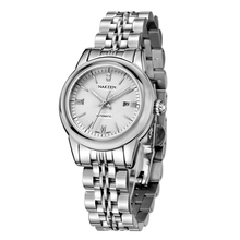 Women's Clock Sapphire Crystal Mirror NAKZEN  Mechanical Watches Women Automatic Calendar Watch 30 m Waterproof Ladies Watch