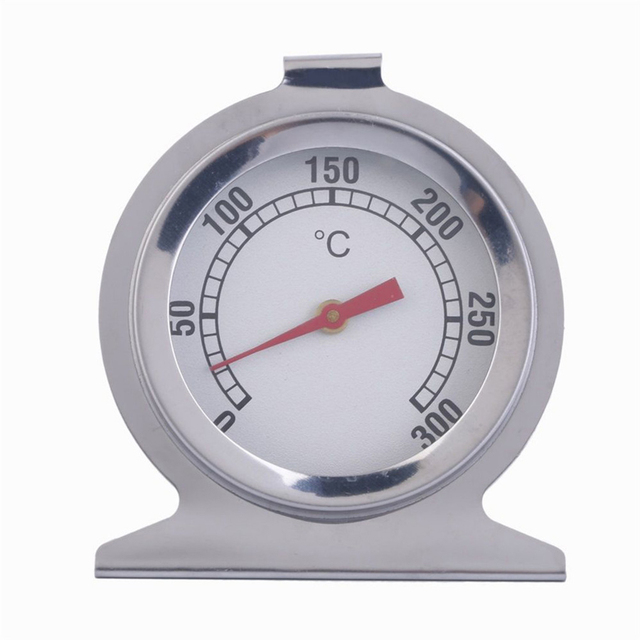Stainless Steel Oven Cooker Thermometer Temperature Gauge Mini Thermometer Grill Temperature Gauge for Household Cooking
