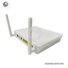 Популярный б/у HW HG8546M GPON терминал ONU, HGU режим трассы, 1GE порт+ 3FE порт+ 1 телефон+ wifi, Gpon ONT