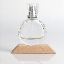 Бесплатная доставка DHL, стеклянный распылитель для духов 20 мл, флакон для духов, косметические бутылки распылители, пустой прозрачный флакон для парфюма, 100 шт./лот