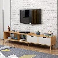 Modern Wood Coffee Table mesa Adjustable Rectangle Living Room Furniture Bedside Table Nordic Style table basse de salon