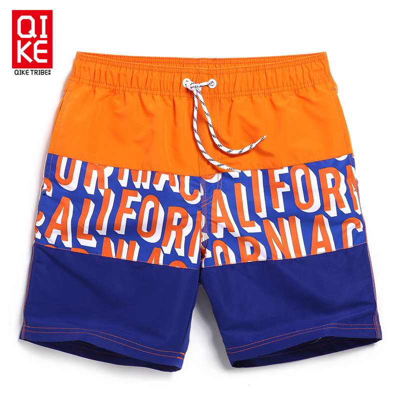 Swimwear Men loose Board Shorts mens beach Letter shorts swimming Man Swim running shorts Plus Size swimsuit sweat