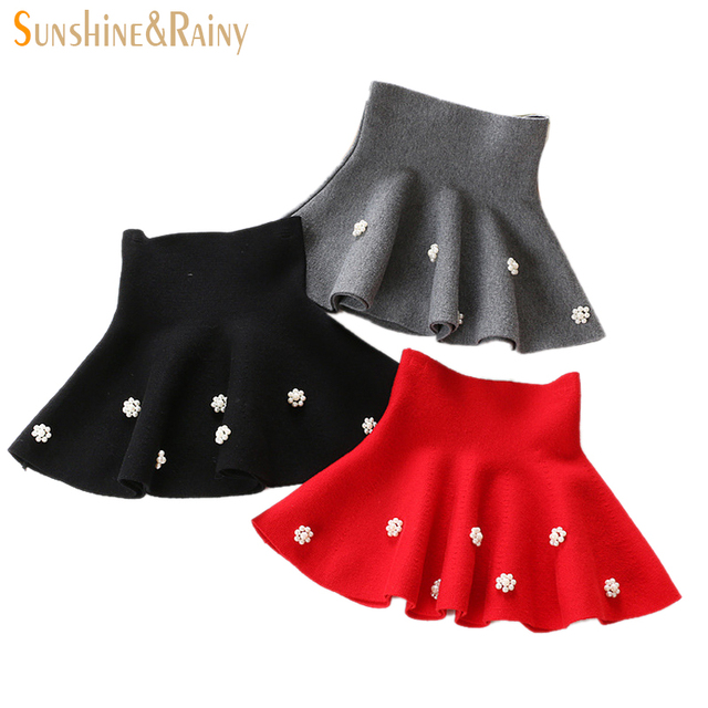 2fee9afdbd4e Autumn Winter Girls Bottoming Skirts Baby Girl High Waist Tutu Skirt ...