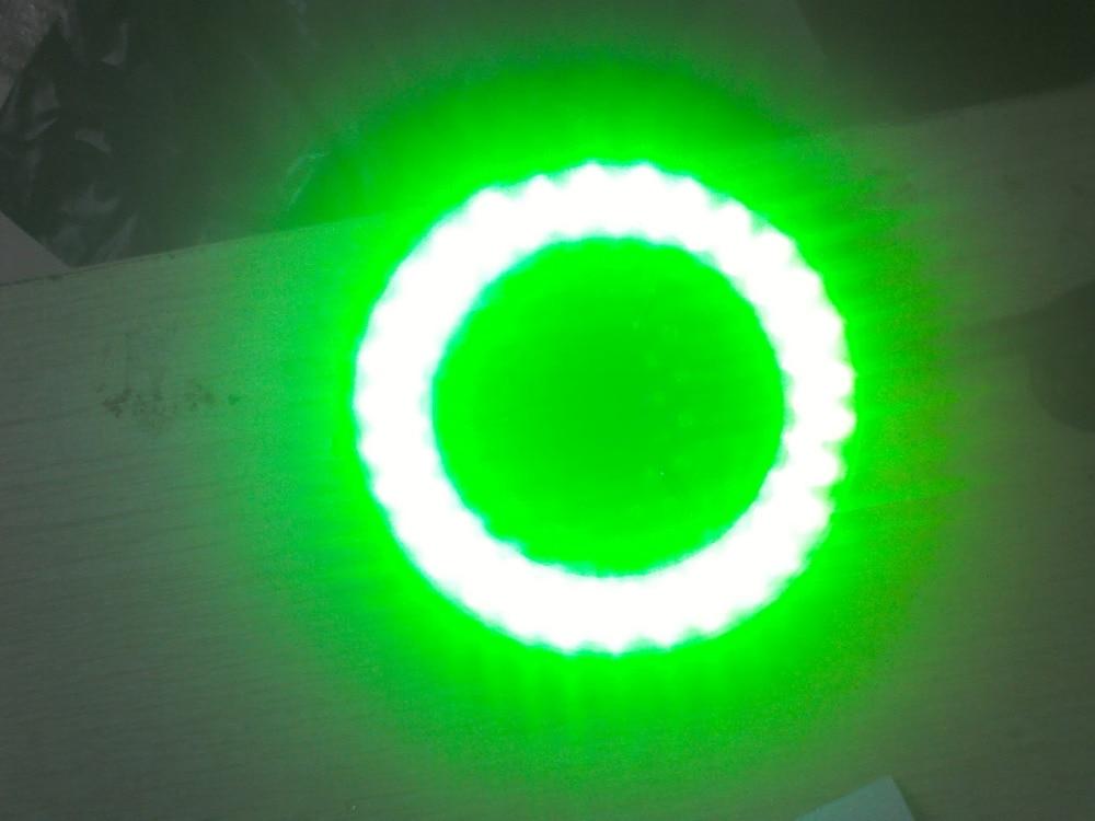 Led cincin lampu hijau sumber cahaya mikroskop stereo biologi