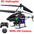 Rc Zangão Helicóptero Com Câmera Avatar 3.5 CH de Metal de Controle Remoto Shatter Resistente Dron brinquedos de controle de rádio helicoptero