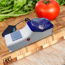 купить 1Pcs Electric Sharpener Plug In Automatic Grinding Tool Fast Multi Function Grinder Knife Quality Kitchen Utensils Househould дешево