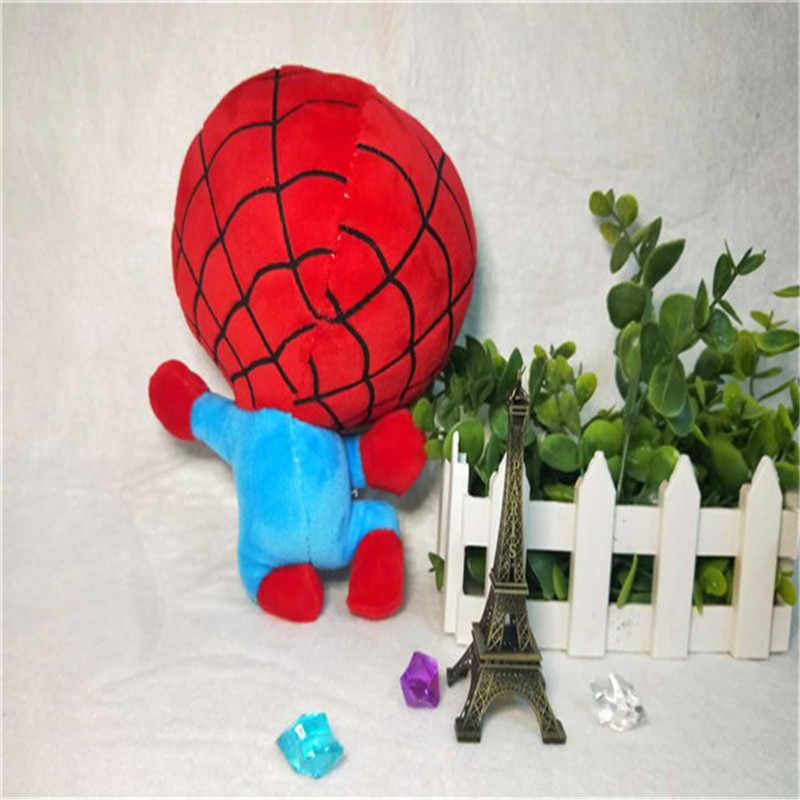 MrY בפלאש צעצועי ילדים ברית נוקמי Q גרסת ספיידרמן Thor איש ברזל סופרמן Hawkeye קפטן אמריקה אופי חוטף בובה