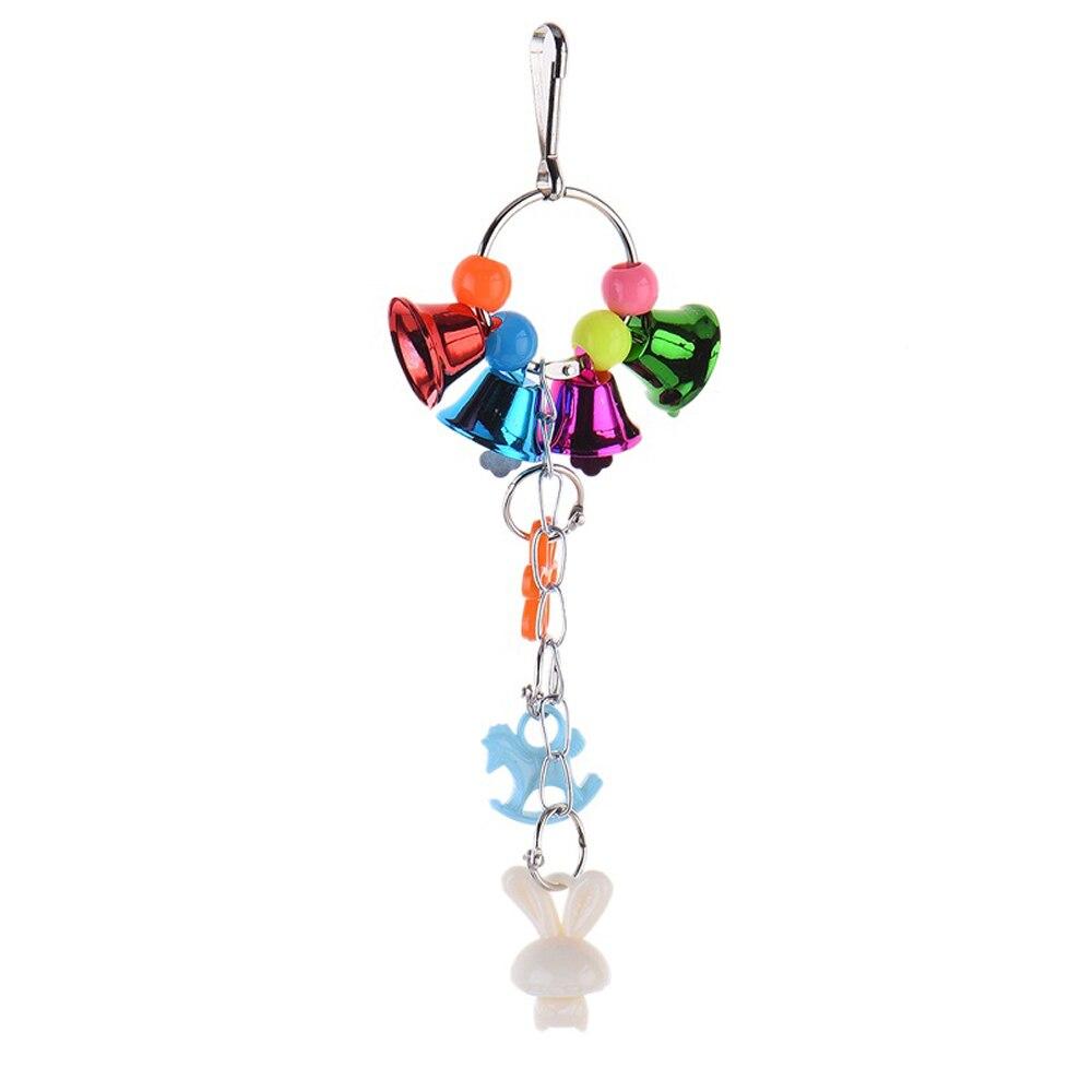 8 видов стилей игрушки-попугаи деревянные птицы стоящая Жевательная стойка игрушки шарик в форме сердца, звезды Попугай Игрушка птица игрушки аксессуары - Цвет: E
